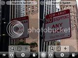 Word lens - Tradutor de placas instantâneo para iphone