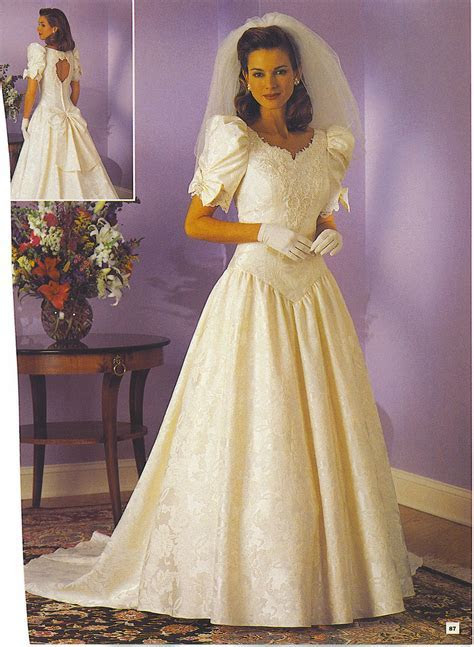 Pin by n loren on 80'S AND 90'S BRIDAL WEDDING FASHION in