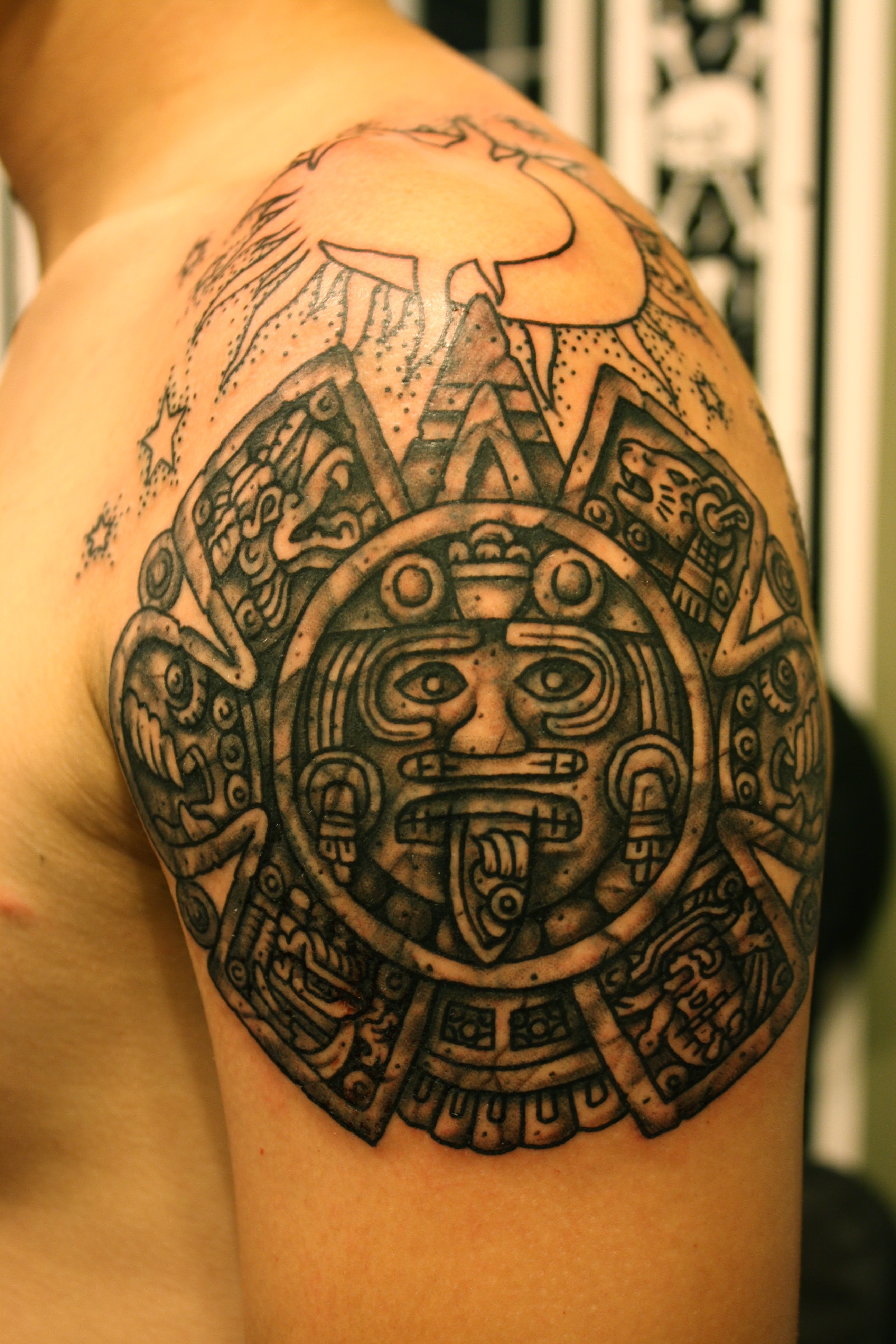 Aztec Tattoos Designs, Ideas and Meaning | Tattoos For You