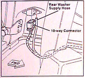 Hardtop Wiring Kit Jeep Wrangler Tj