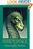 Inheritance by Christopher Paolini Book Cover