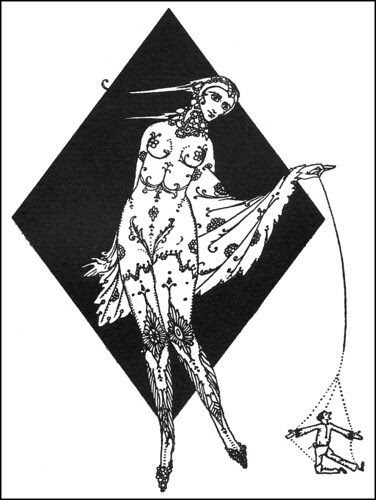 Harry Clarke, Swinburne, decoration 3
