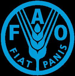Logo của Tổ chức Lương thực và Nông nghiệp Liên Hiệp Quốc.