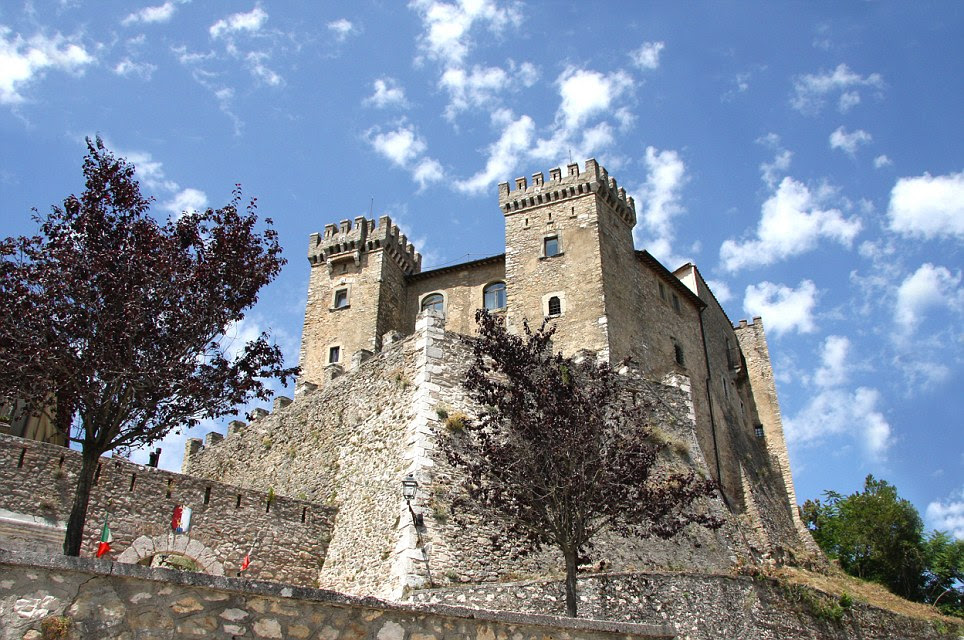 Historic: Parts of the magnificent Castello di Collalto just outside Rome date from the 10th century but if you want to move in, you'll have to cough up more than £7 million