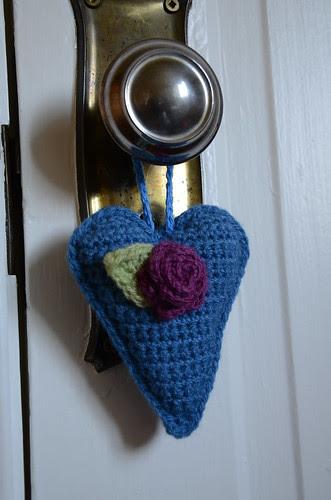 Crochet heart by Emily
