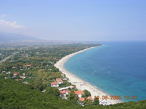 Platamonas Beach, Pieria, Greece