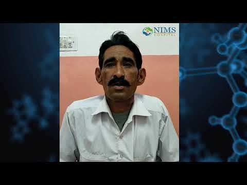 Successful Treatment at Nims Hospital by Dr Vinay Kumar Singh