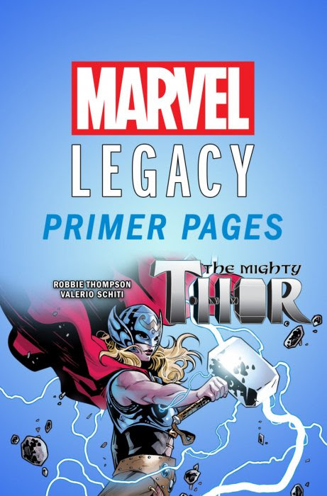 The Mighty Thor - Marvel Legacy Primer Pages #1