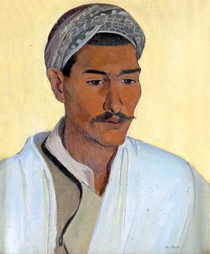 Portrait Of A Young Arab Man
