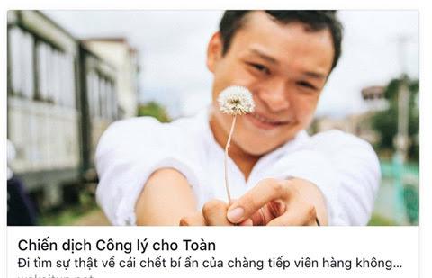 Công lý cho Toàn, Bệnh viện Thống Nhất, tiếp viên hàng không, tử vong, Dương Châu Toàn