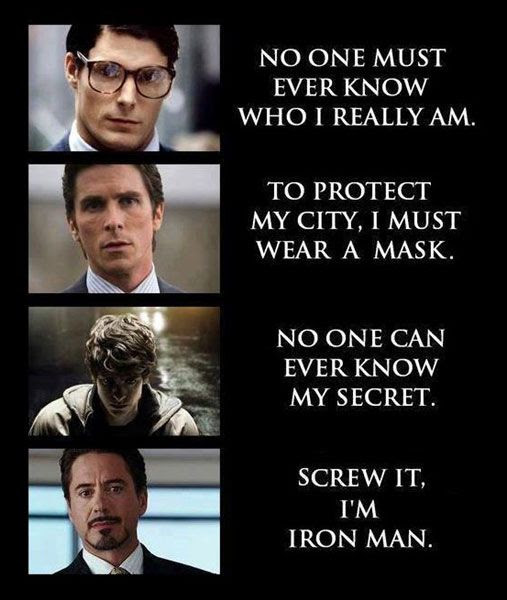 Tony Stark is proud to let the world know that he is IRON MAN.