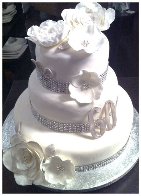 60th wedding anniversary cake   Cake ideas   Pinterest