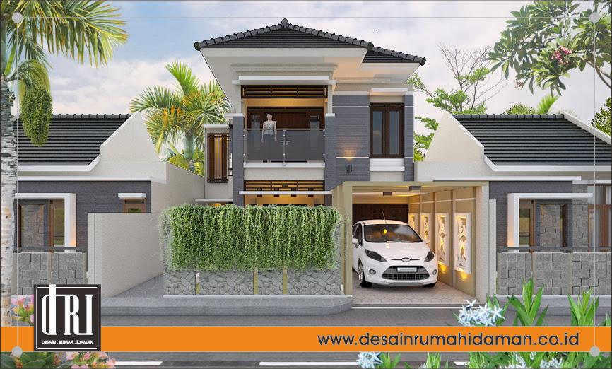 Desain Rumah Modern Tropis Di Brebes Desain Rumah Idaman