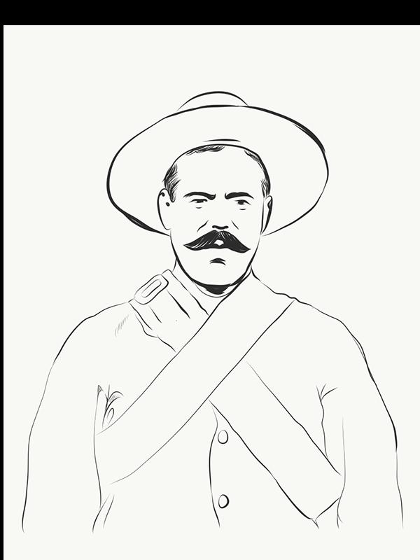Pancho Villa Drawing At Getdrawingscom Free For Personal Use