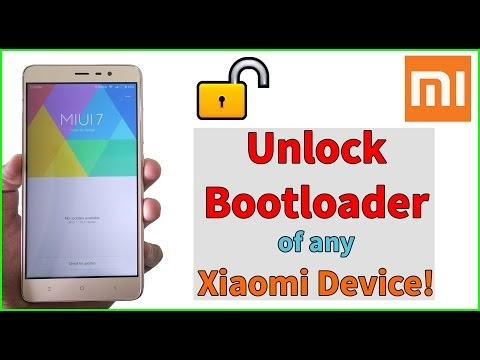 How to unlock bootloader of Redmi Note 4 or Any Xiaomi Device