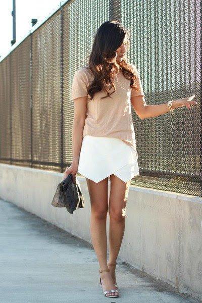 Tendencias, belleza y moda: 16 looks con estilo de falda