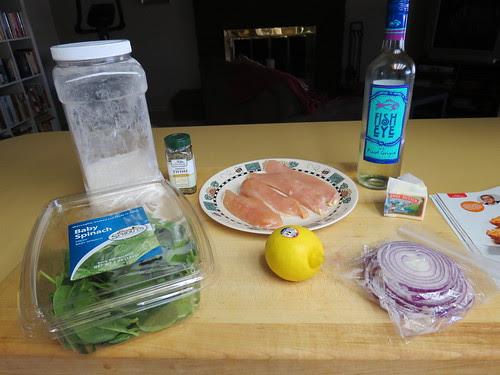ingredients minus stock