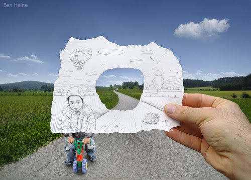 4750627226 4e3ac96efb in Incredibly Creative Pencil Drawings vs Photography