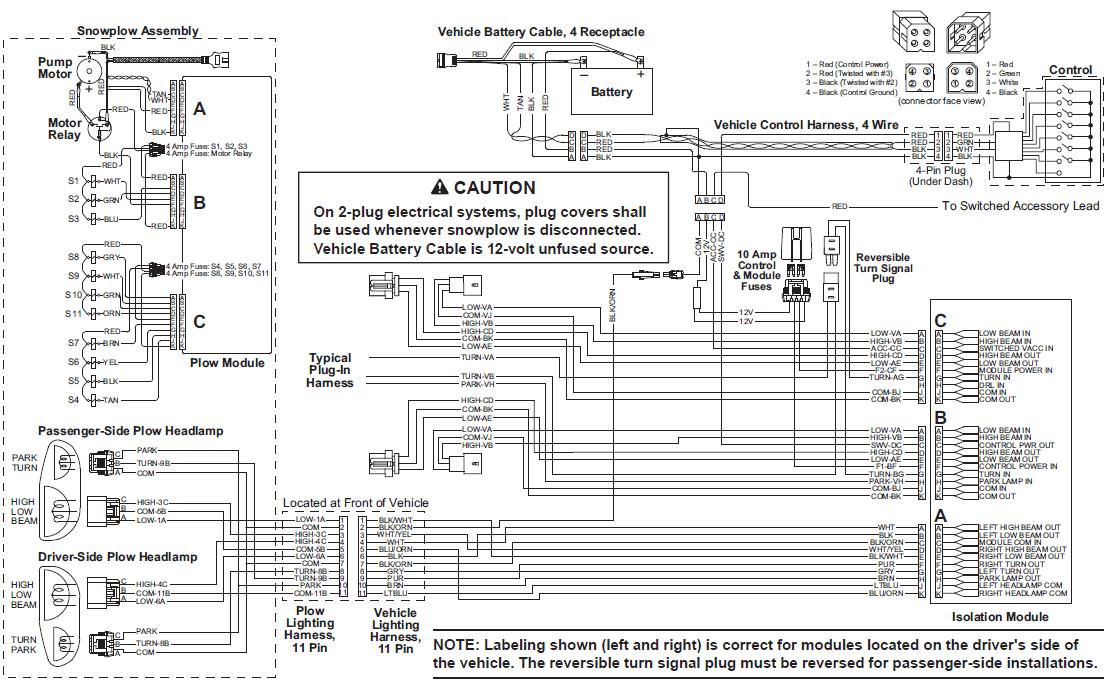 Fisher Straight Blade Wiring Diagram 12 Volt Light Wiring Diagram For Wiring Diagram Schematics