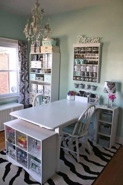 Naturally Lit Elegant Craft Room mod