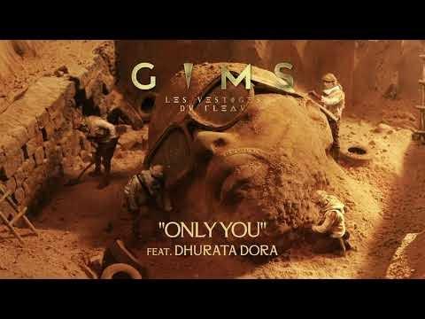 GIMS - ONLY YOU feat. Dhurata Dora (Lyrics)