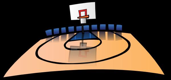 basketball ball cartoon. Cartoon Basketball Court