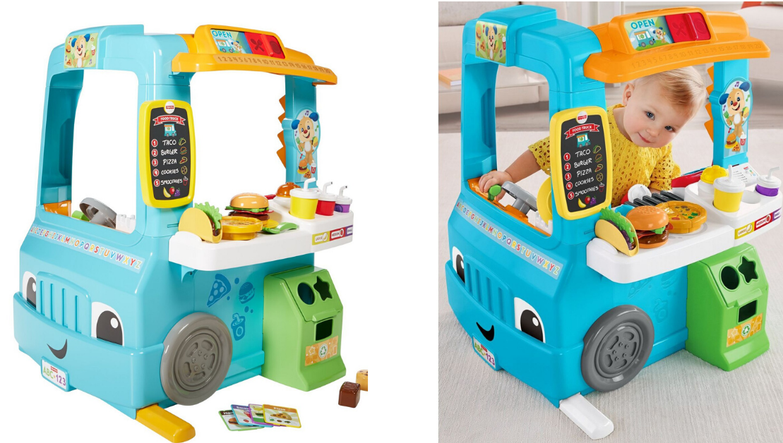 Hot Target Deal! Fisher-Price Laugh & Learn Servin' Up Fun ...