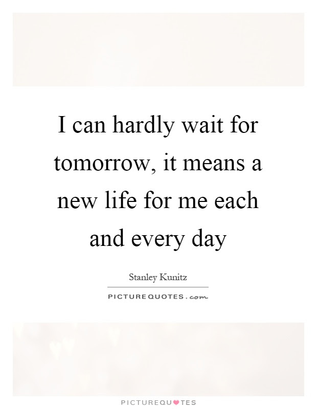New Day Tomorrow Quotes Sayings New Day Tomorrow Picture Quotes