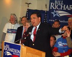RICHARDSON'S VICTORY SPEECH IN IOWA