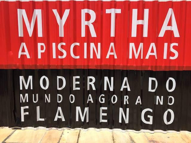 A Myrtha é uma grande conquista para o Flamengo