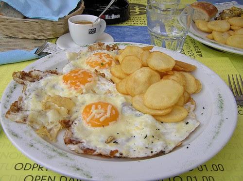 Hearty Breakfast in Ljubljana