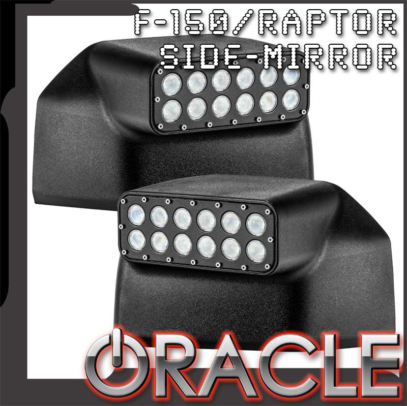 Oracle 2015 2019 Ford F150 Led Off Road Side Mirrors