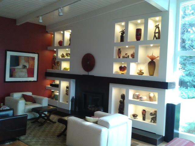 Art Niche cabinet - contemporary - living room - san luis obispo ...
