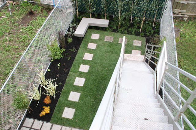 Park Slope Condo - Modern - Landscape - new york - by Little ...