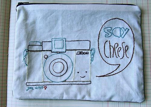 Say Cheese! bag