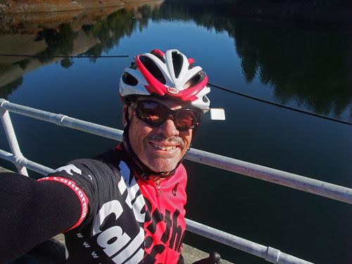 Mt Tamalpias ride lake on way up