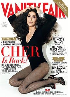 Cher on Van Fair cover
