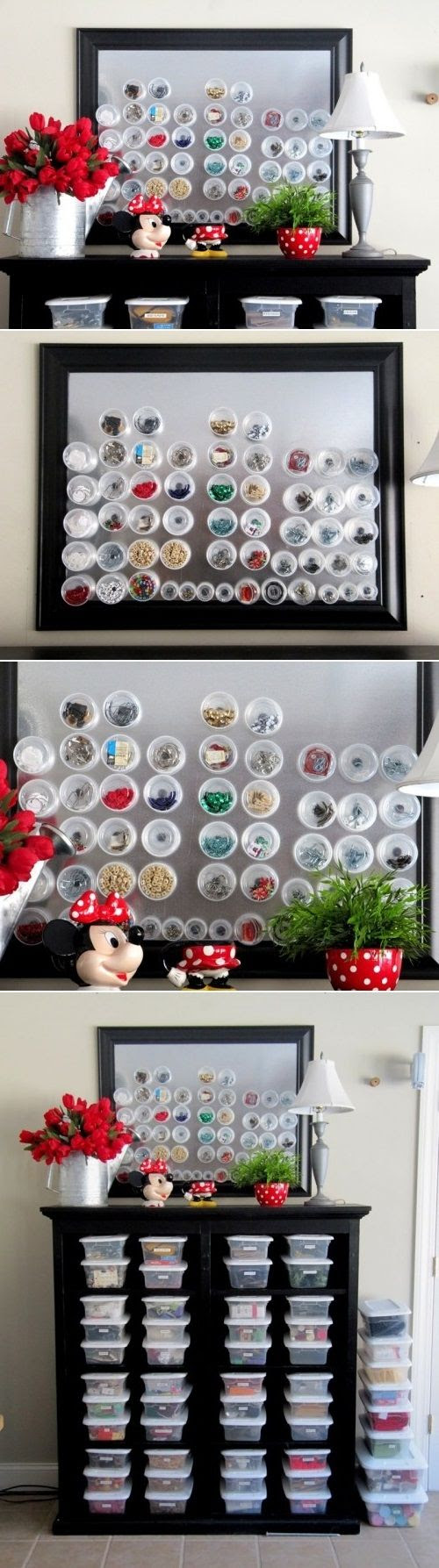 DIY Magnetic Storage For Small Things