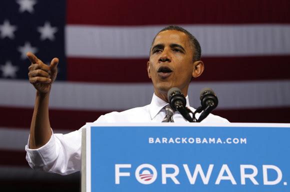 """Las armas químicas en Siria, una """"línea roja"""" muy difusa para Obama."""