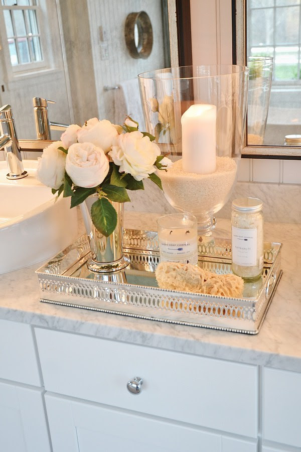 Bathroom Vanity Tray Ideas For Organizing In A Sleek Way ...