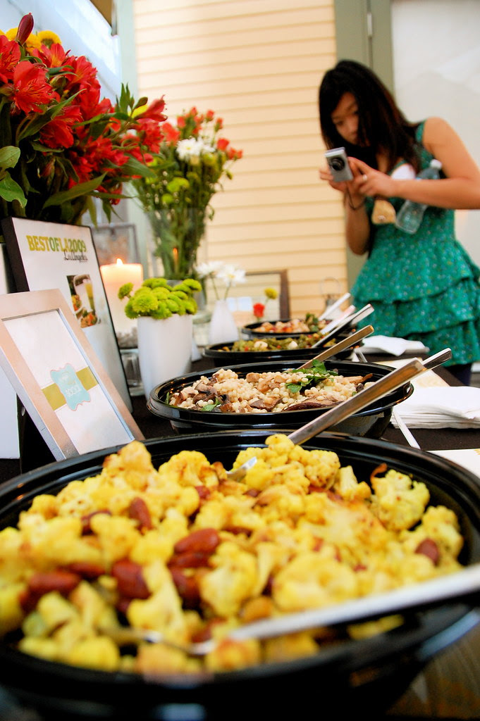 food catered by lemonade
