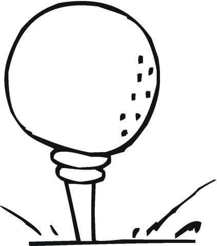 7500 Top Cartoon Golf Coloring Pages Download Free Images