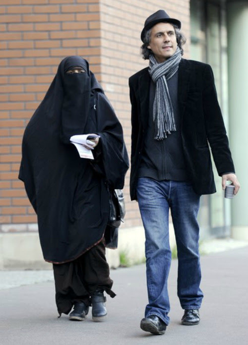 "farhaaan:  This is Rachid Nekkaz, the French businessman who announced he will pay all fines for women who are charged with wearing the niqab — not just in France but ""in whatever country in the world that bans women from doing so"".  The niqab is a filmy cloth attached to the headscarf that covers all but the eyes. Any woman found to be wearing the niqab in France in public can be fined upto €150 ($200) and ordered to attend 're-education classes'. Belgium, Italy, Denmark, Austria, the Netherlands and Switzerland all have — or are planning — similar legislation. The businessman has already paid fines for women in both France and Belgium where wearing the piece of cloth is outlawed. He said:   I'm in favour of a law to convict a husband who forces a women to wear the niqab and who forces her to stay at home. But I'm also for a law that lets these women move freely in the streets, because freedom of movement, just like any freedom, is the most fundamental thing in a democracy.    He is pictured above with Kenza Drider, the longshot ""freedom candidate"" for French presidency, after accompanying her to a police tribunal in Paris where she appeared for violating France's niqab ban. Drider told The Associated Press in an interview:   When a woman wants to maintain her freedom, she must be bold. I have the ambition today to serve all women who are the object of stigmatization or social, economic or political discrimination. It is important that we show that we are here, we are French citizens and that we, as well, can bring solutions to French citizens.  Nekkaz put up a €2m ($2.5m) property to fund his campaign.   Photo credit: Getty"
