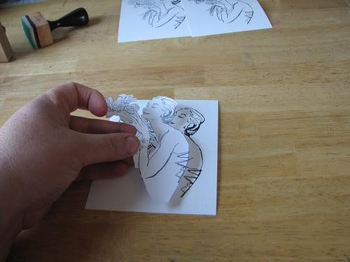 Aura Stamping Technique007
