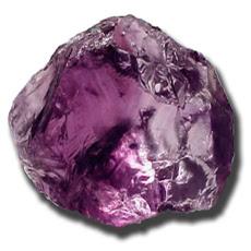 Energía de los cristales Morados