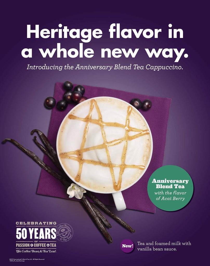 CBTL - Anniversary Blend Tea Cappuccino