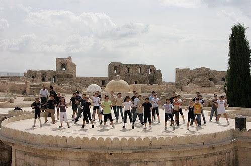 Dancing to Scott Joplin, Citadel, Aleppo