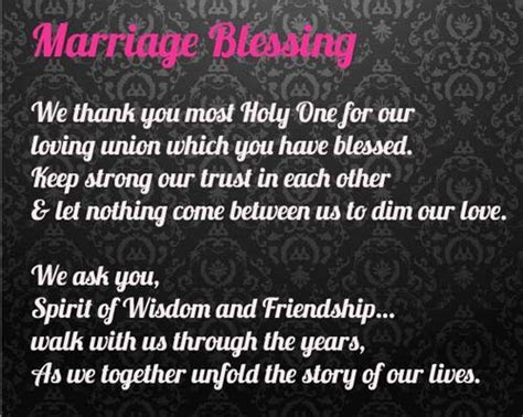 Anniversary Prayers   Beautiful Blessings