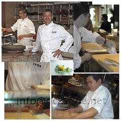 London, Zuma Chef Rainer Becker