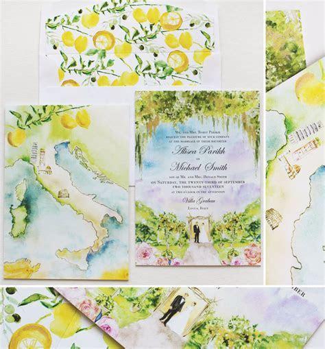 Alisea P   Tuscany Landscape Wedding InvitationMomental